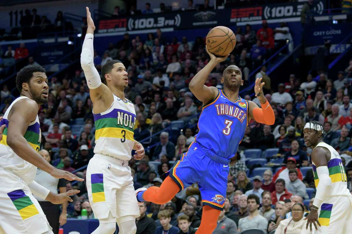 Chris Paul likely won't be guarded like he was against the Pelicans earlier this season but he will have to call his shot in upcoming HORSE competition on ESPN.