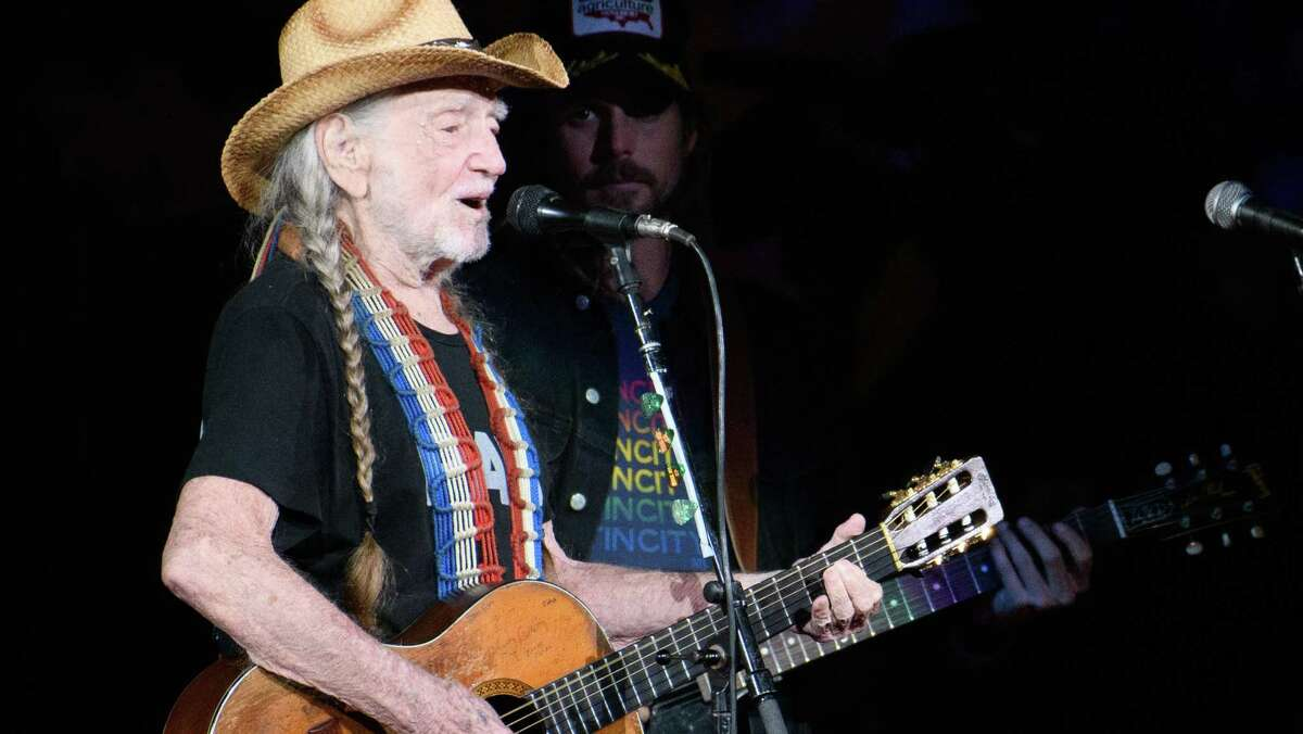 Willie Nelson will host a televised Farm Aid benefit on Saturday night.