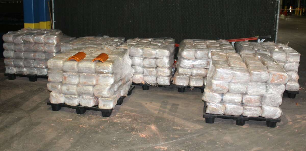 U.S. Customs and Border Protection officers seized 3,259 pounds of marijuana on Saturday at the World Trade Bridge. The contraband had an estimated street value of $651,856.
