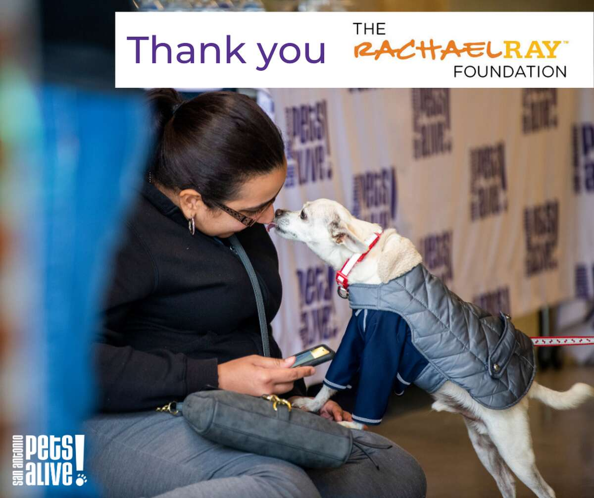San Antonio Pets Alive! received some much-needed help this week from Food Network celebrity and chef Rachael Ray.