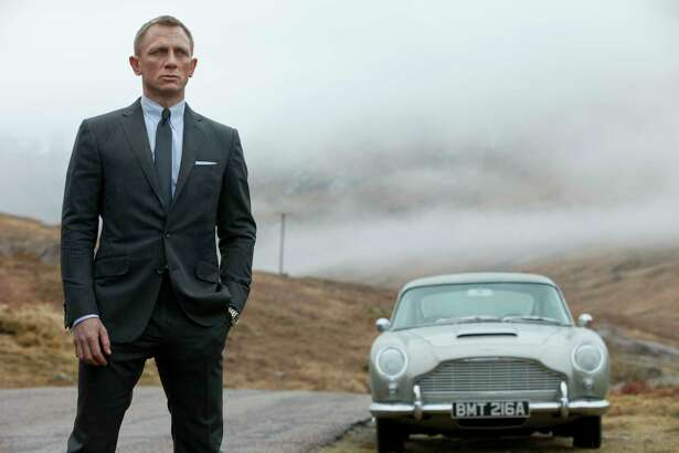 """This film image released by Columbia Pictures shows Daniel Craig as James Bond in the action adventure film, """"Skyfall."""" AP Photo/Sony Pictures, Francois Duhamel)"""