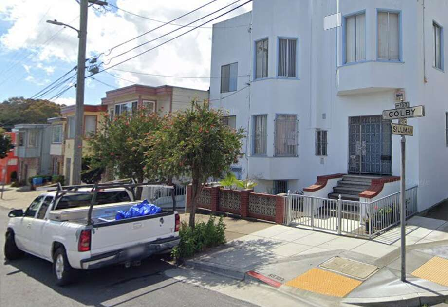 The 100 block of Colby Street in San Francisco's Portola District, where the home invasion robbery occured. Photo: Google Maps