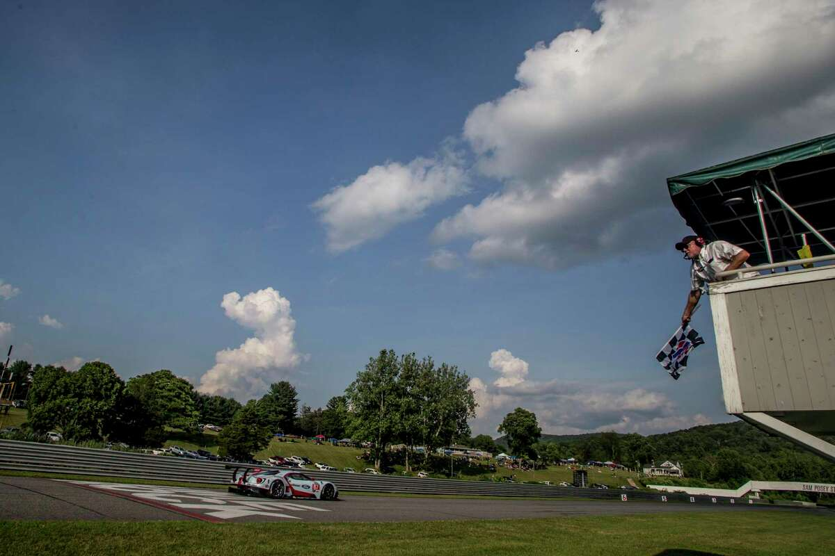 The Northeast Grand Prix, IMSA WeatherTech Series Race, on July 20, 2019, at Lime Rock Park in Lakeville. (Photo by Brian Cleary/Getty Images)