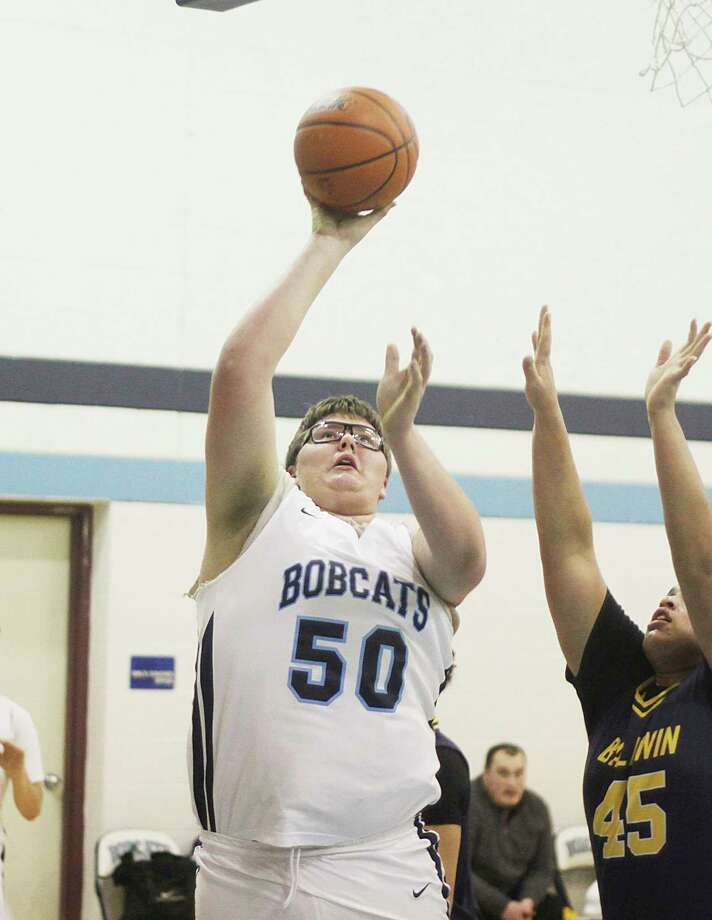 Brethren's Anthony Beccaria earned an honorable mention in this year's Division 4 boys basketball all-state selections. (News Advocate file photo)