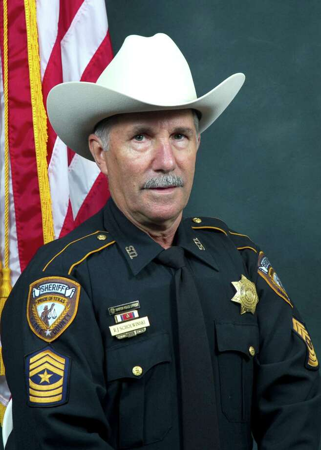 Scholwinski, a sergeant with the Harris County Sheriff's Office, died Wednesday after a weeks-long battle with COVID-19. Photo: Courtesy