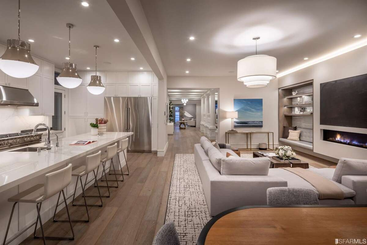 Just Renovated Pac Heights Mansion With Indoor Swimming Pool Fetches 11 Million