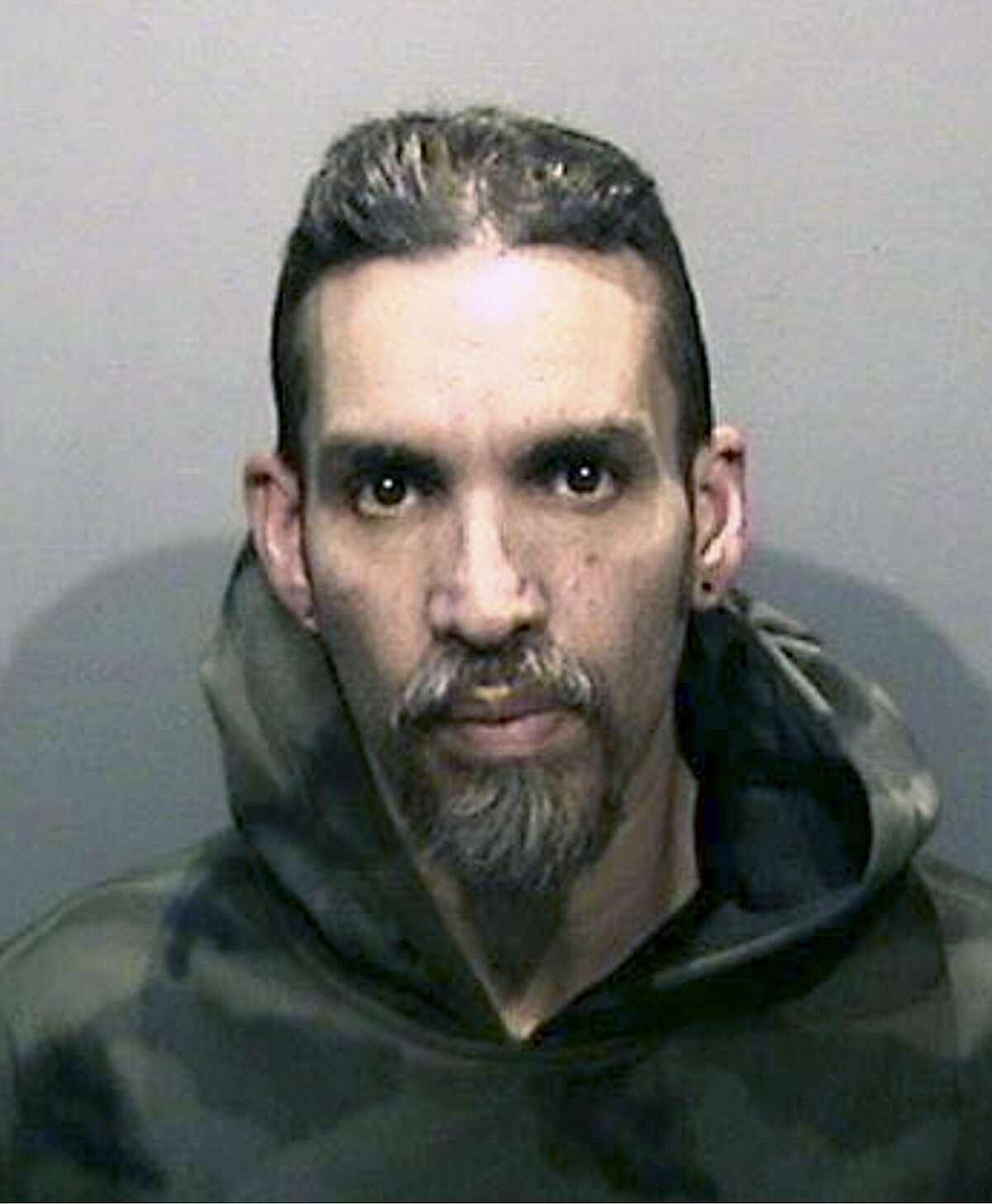 FILE - This Monday, June 5, 2017, file photo released by the Alameda County Sheriff's Office shows Derick Almena at Santa Rita Jail in Alameda County, Calif.