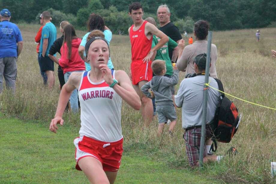 Sarah Storey was a sophomore runner for Chippewa Hills' track and cross country teams. (Pioneer file photo)