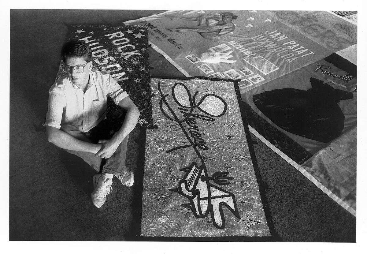 Cleve Jones in 1987.