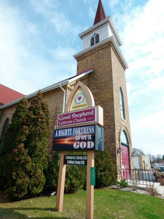 Good Shepherd Lutheran Church in Manistee is one of several local churches which have shifted their services online during Holy Week. (Scott Fraley/News Advocate)