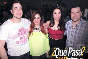 Tony Alvarado, Brittany Chapa, Karen Saenz and Juan Ortiz at Vibe 2016