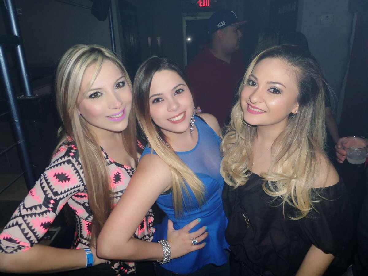Dayana Lozano, Rocio Sosa and Melyza Gonzalez at Vibe 2016