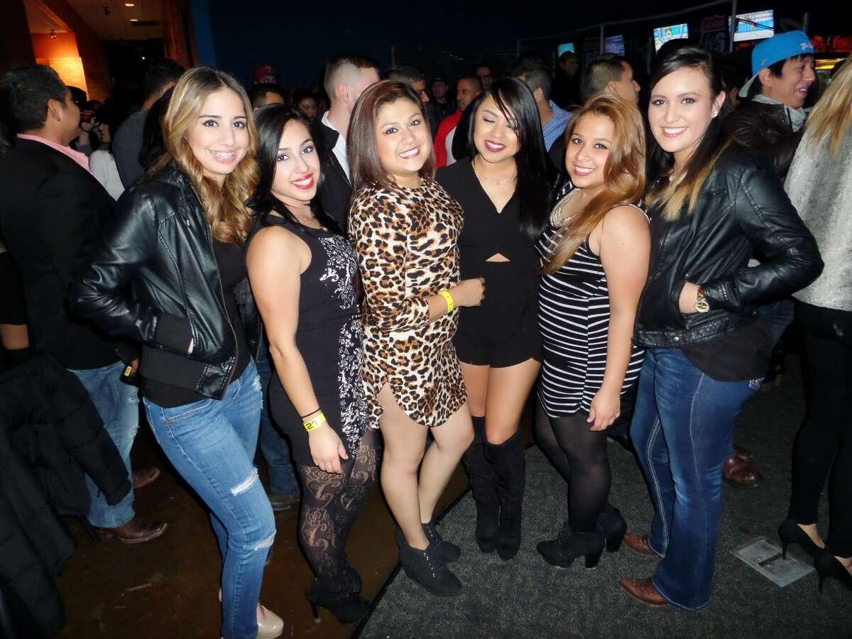 Gabriela Arellano, Esperanza Lara, Gloria Barron, Rita Chapa, Azeneth Ibarra and Jasmine Michelle at Hal's 2016