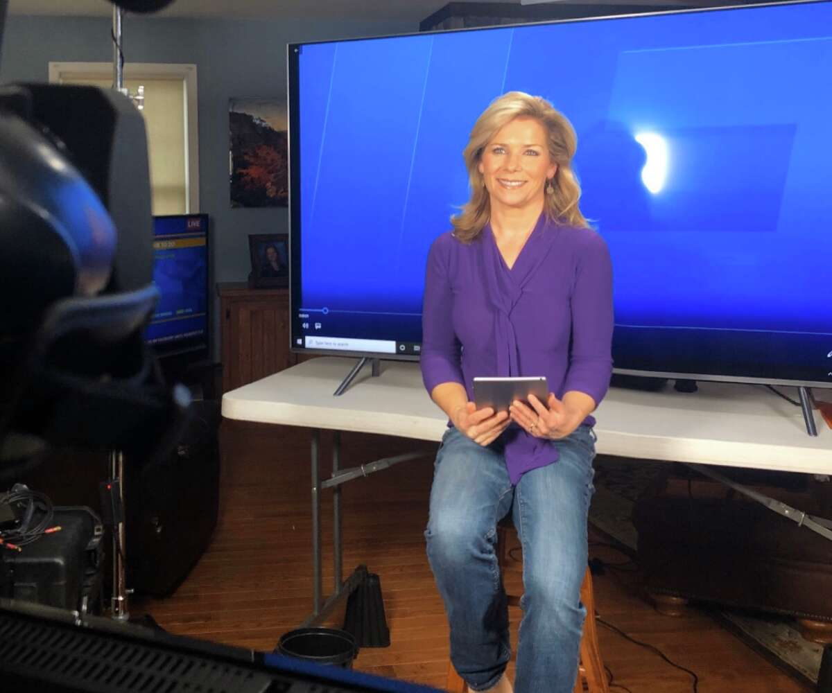 Spectrum News anchor Julie Chapman broadcasts live from home. Related: 20 things you don't know about me: Julie Chapman