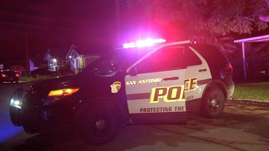 San Antonio police are looking for those connected to a shooting outside an East Side residence that left three people hospitalized. Photo: Ken Branca
