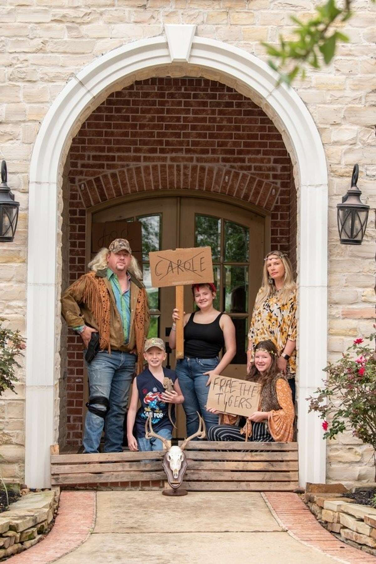 Families in the Cole's Crossing neighborhood of Cypress decided to share their candid, creative photos of