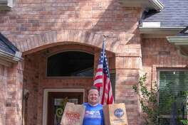 """Families in the Cole's Crossing neighborhood of Cypress decided to share their candid, creative photos of """"Surviving Quarantine 2020."""""""