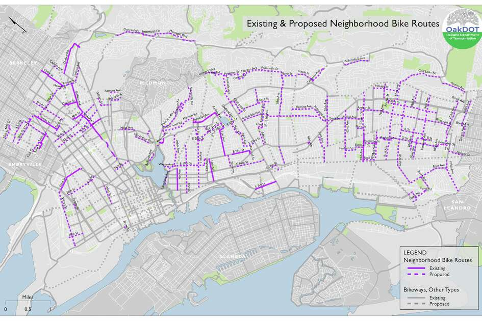 The city of Oakland is closing 74 miles of streets to create more space for increasing pedestrian and bicycle traffic.