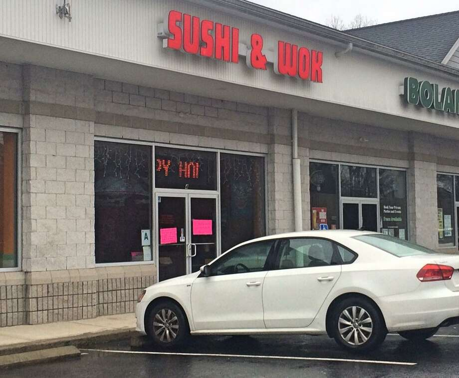 Sushi & Wok in Seymour has received widespread community support since receiving a series of threatening phone calls last week blaming Asian people for the COVID-19 pandemic. Photo: Donald Eng / Hearst Connecticut Media
