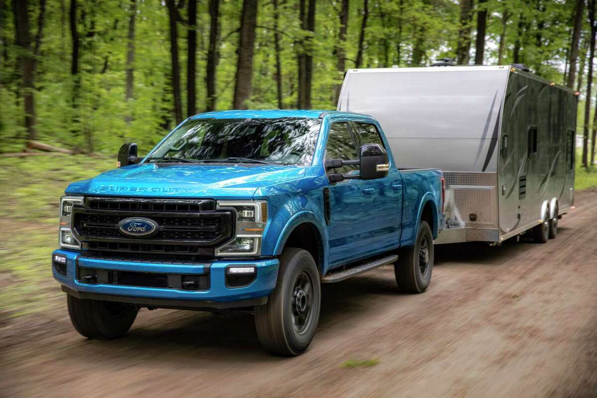 Tremor pushes the boundaries of Super Duty off-road capability with new hardware and tech to handle rough terrain, providing greater towing and payload than Ram Power Wagon.