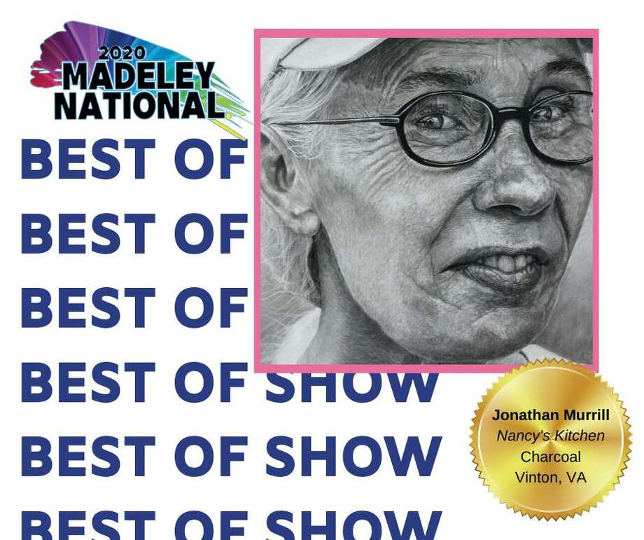 """Jonathan Murrill's """"Nancy's Kitchen"""" charcoal art was named the Best of Show in the 5th Annual Madeley National Show recently. Visit youtube.com and search for the Conroe Art League for a virtual tour of the show winners. Photo: Photo Courtesy The Conroe Art League"""