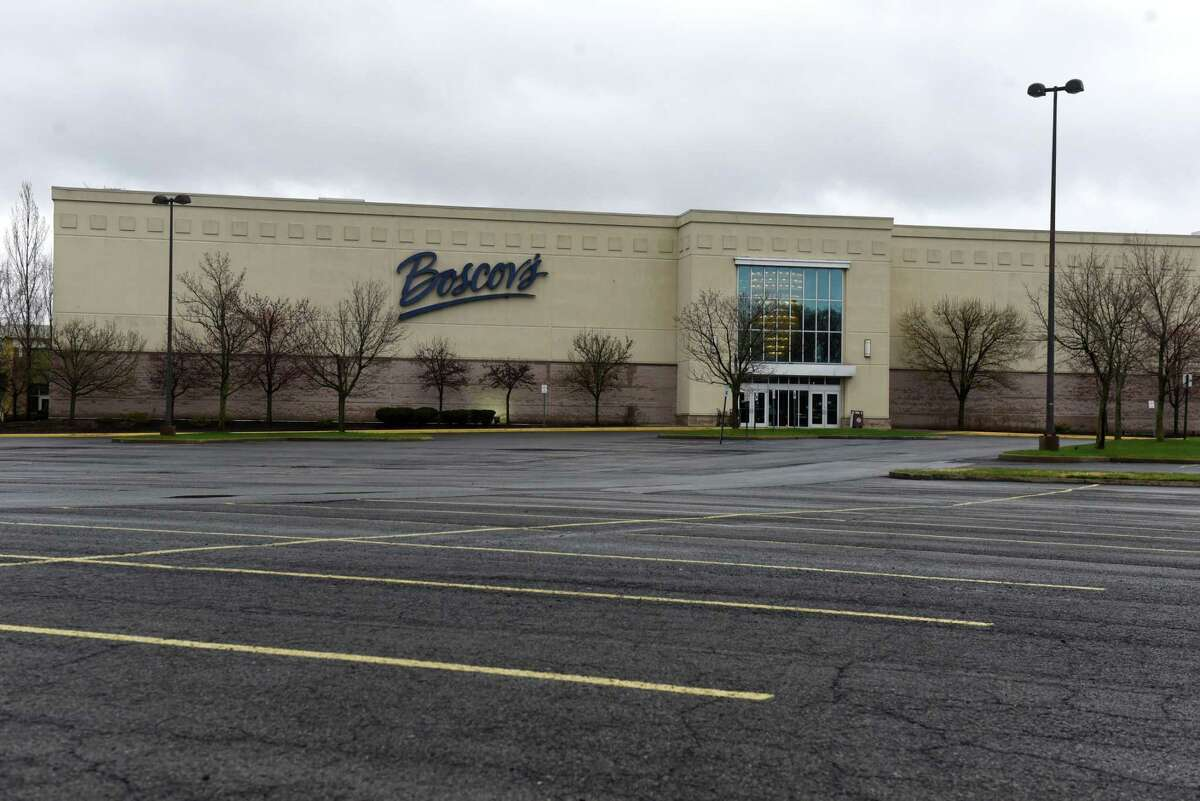 An empty parking lot is seen outside at a New York shopping mall during the coronavirus lockdown on Thursday, April 9, 2020. Taylor predicts that that more brick-and-mortar retail will now die much more quickly, in a rapid paradigm-shift way, not in an evolutionary way.