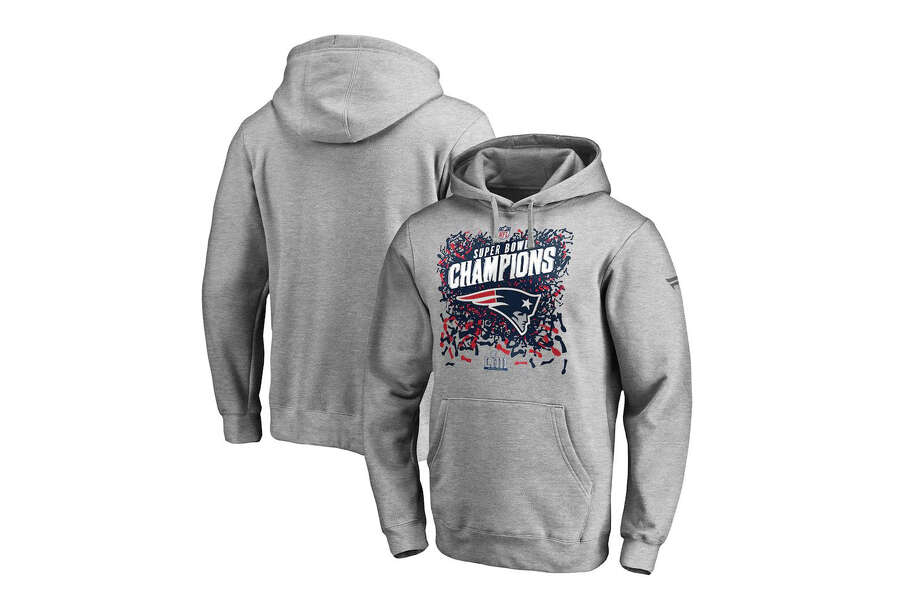 New England Patriots NFL Pro Line by Fanatics Branded Super Bowl LIII Champions Trophy Collection Locker Room Pullover Hoodie, $33.99 Photo: Fanatics