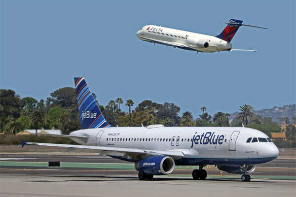 JetBlue is suspending service to San Jose, Burbank and Ontario, California.