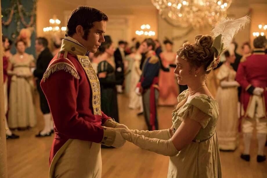 """Jeremy Neumark Jones and Emily Reid star in Julian Fellowes' """"Belgravia,"""" airing on Epix TV. Photo: Colin Hutton, HONS / Associated Press / Carnival film & television limited"""