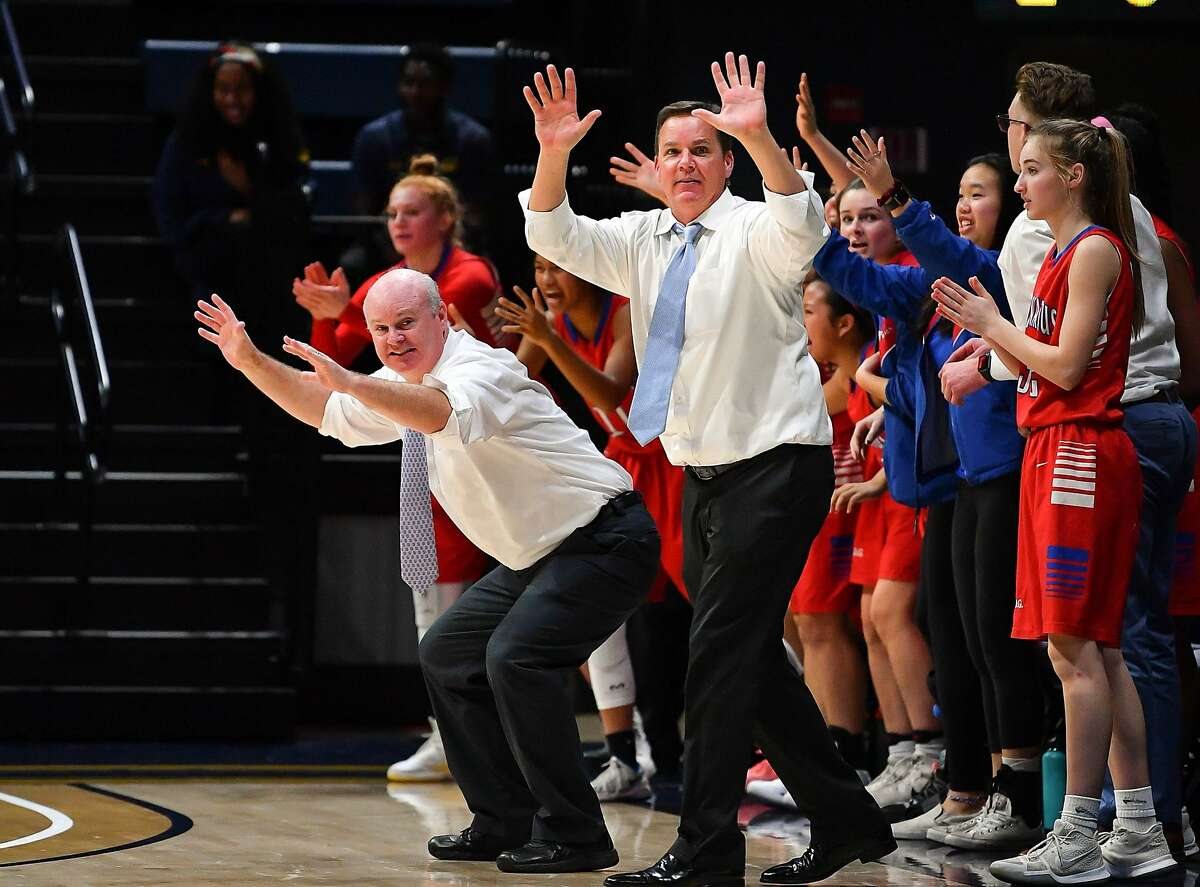 Mike Mulkerrins was 282-134 in 14 seasons as the girls basketball coach at St. Ignatius. He won 3 WCAL and two CCS titles and reached the NorCal playoffs all 14 seasons.