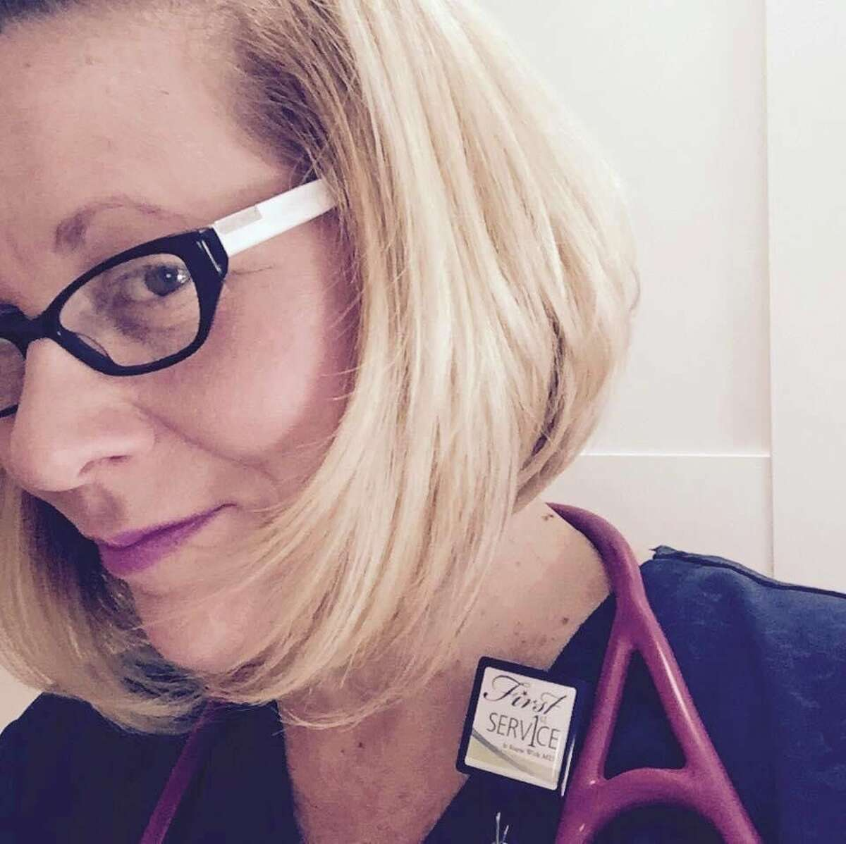 Despite following all of the precautions, Tuscola County Health Department Public Health Nurse Melissa Leggieri found herself hospitalized for the coronavirus. (Courtesy Photo)