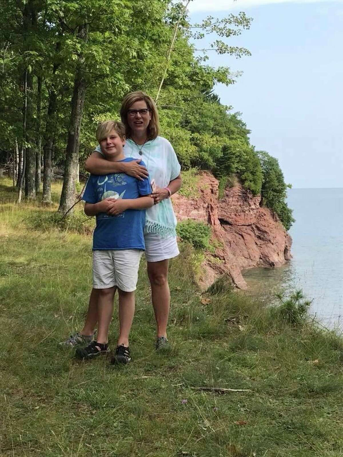 Melissa Leggieri wants nothing more than to beat the coronavirus and get back to spending time with her 12-year-old sonBeckett. (Courtesy Photo)