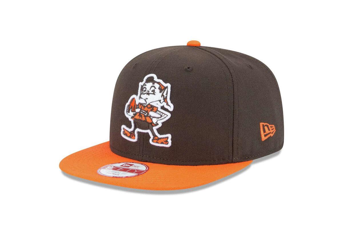 Cleveland Browns New Era Historic Logo Baycik 9FIFTY Snapback Adjustable Hat, $17.99