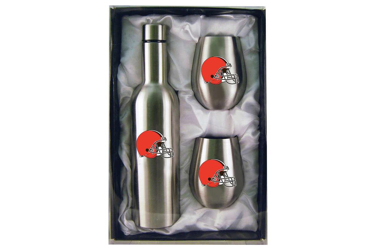 Cleveland Browns 28oz. Bottle & 12oz. Tumblers Set, $44.99