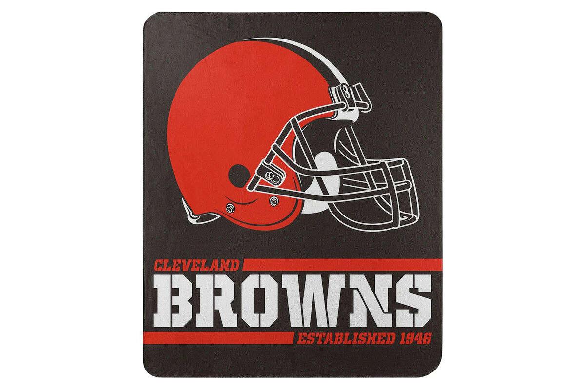 Cleveland Browns The Northwest Company 50'' x 60'' Split Wide Fleece Throw Blanket, $11.99