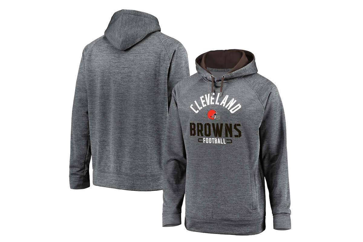 Cleveland Browns NFL Pro Line by Fanatics Branded Big & Tall Battle Charged Raglan Pullover Hoodie, $44.99