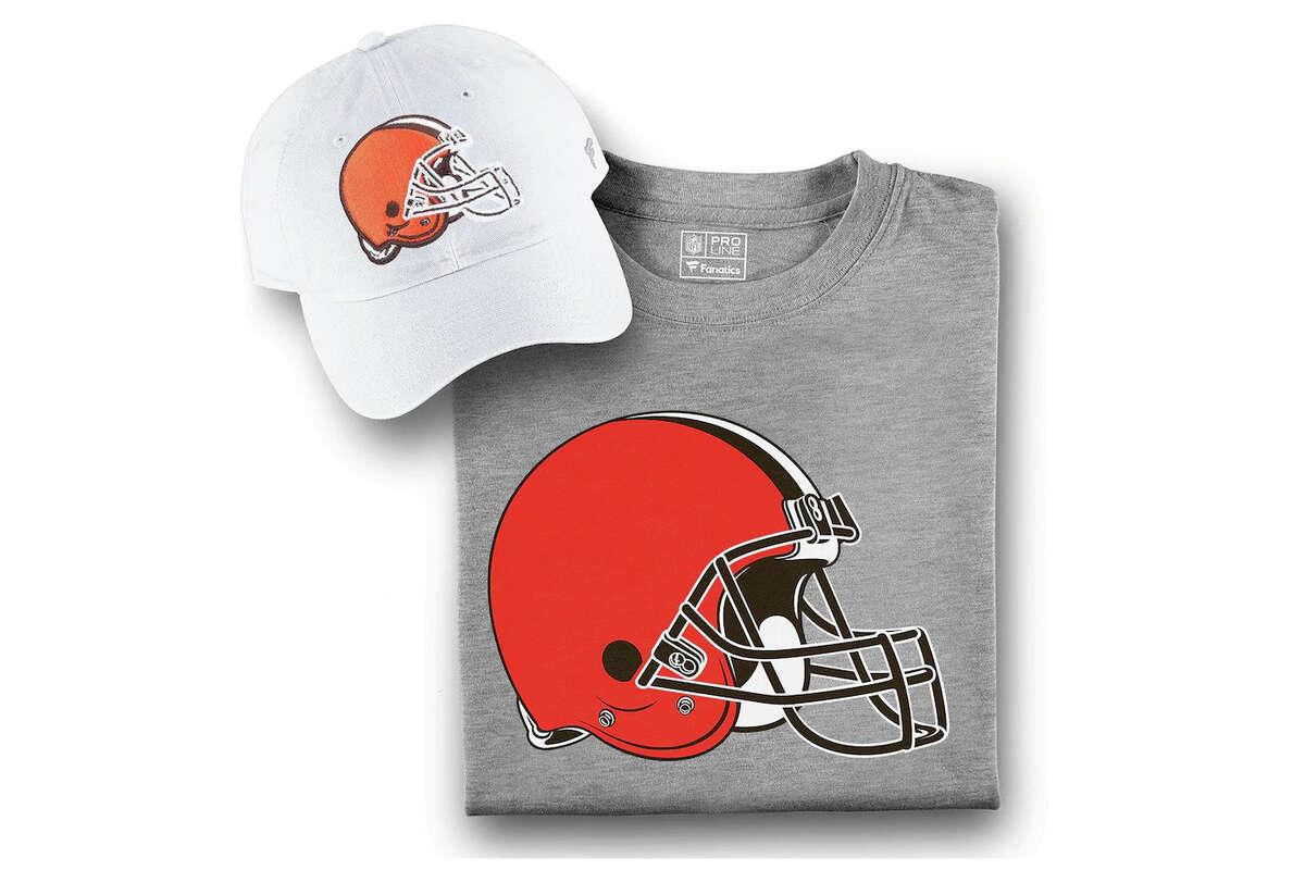 Cleveland Browns Fanatics BrandedT-Shirtand Hat Bundle, $23.99