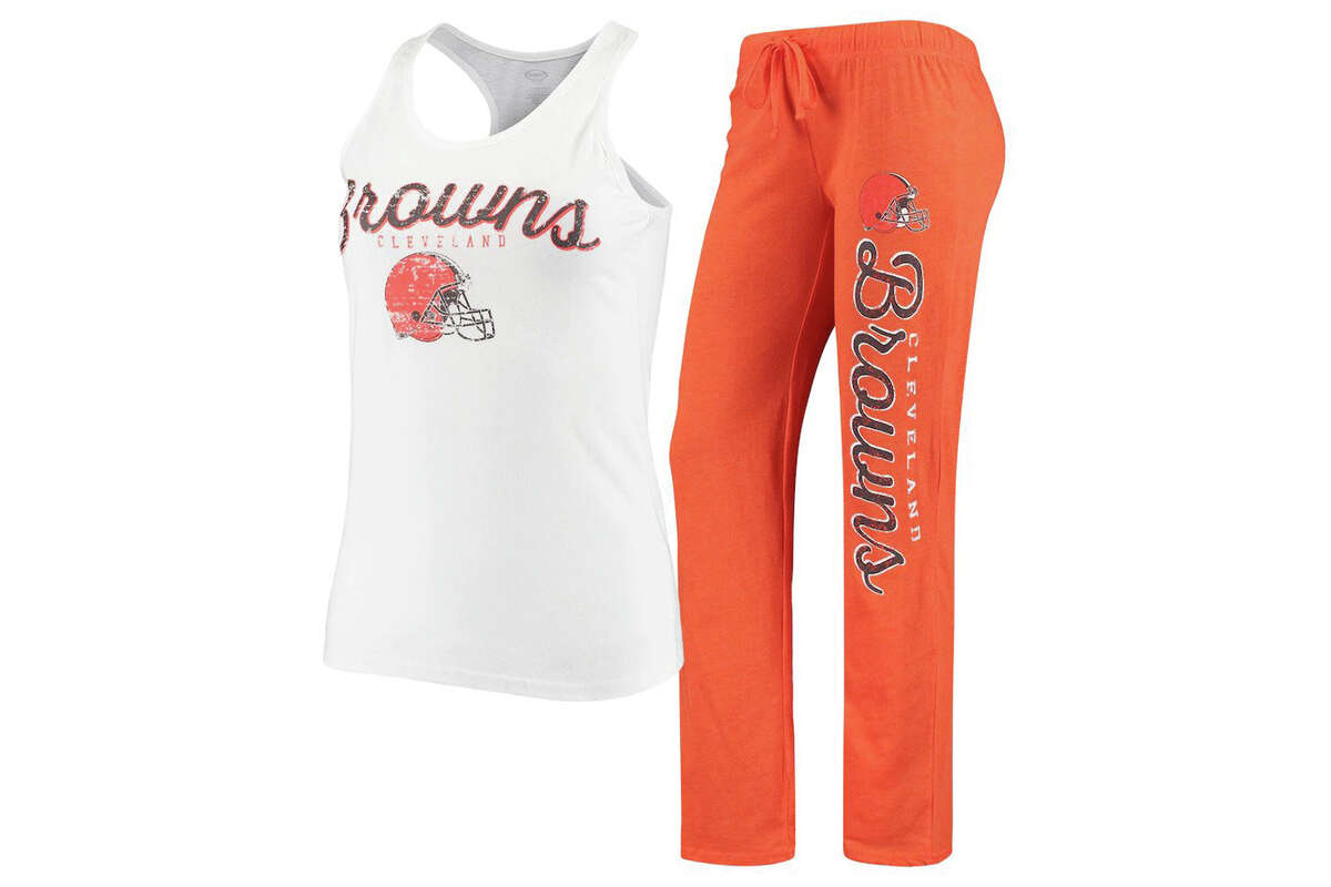 Cleveland Browns Concepts Sport Women's Topic Tank Top & Pants Sleep Set, $29.99