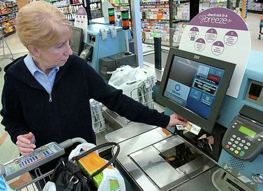 The Healthy Savings program can be used to purchase grocery items right at the checkout lane. Photo: Contributed