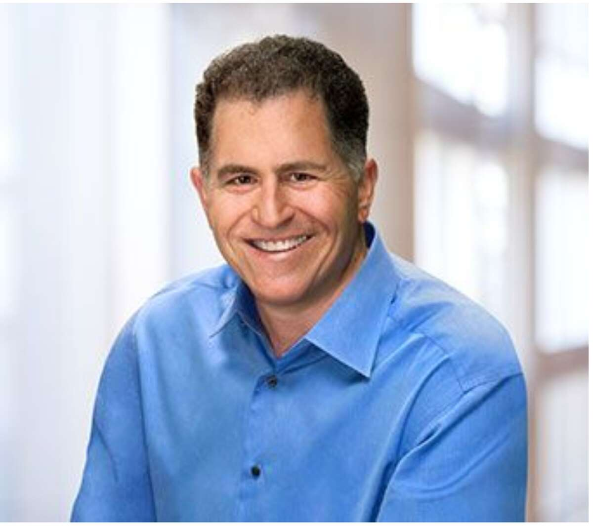 18. Michael Dell Net worth: $35.6 billion Source of wealth:Dell computers Michael Dell, 55, is the chairman and CEO of Dell Technologies. Dell, who still lives in Austin, started out selling computers out of his freshman dorm room at the University of Texas.