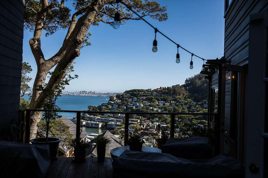 A view of Sausalito, California on Tuesday, March 31, 2020. Photo: Photos By Gabrielle Lurie / The Chronicle