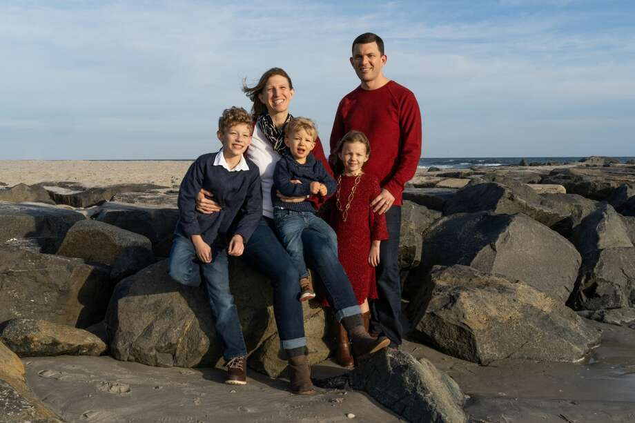 Doug Shelton and his wife Meg live in Ocean View, New Jersey, with their three children Ryan, age 10, Gavin, 3 and Avery, 7. Photo: Courtesy Photo/provided By WBU