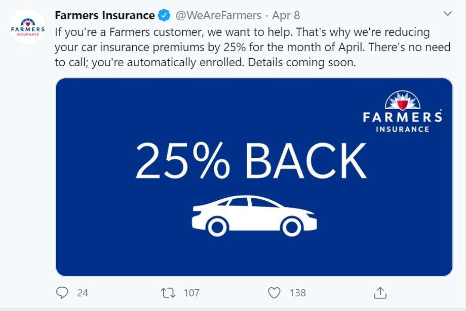 Amid the spread of COVID-19 and stay-at-home orders issued, many are driving less as they work from home. Auto insurers are stepping up to provide relief to its customers amid the pandemic. Photo: Screenshot Twitter