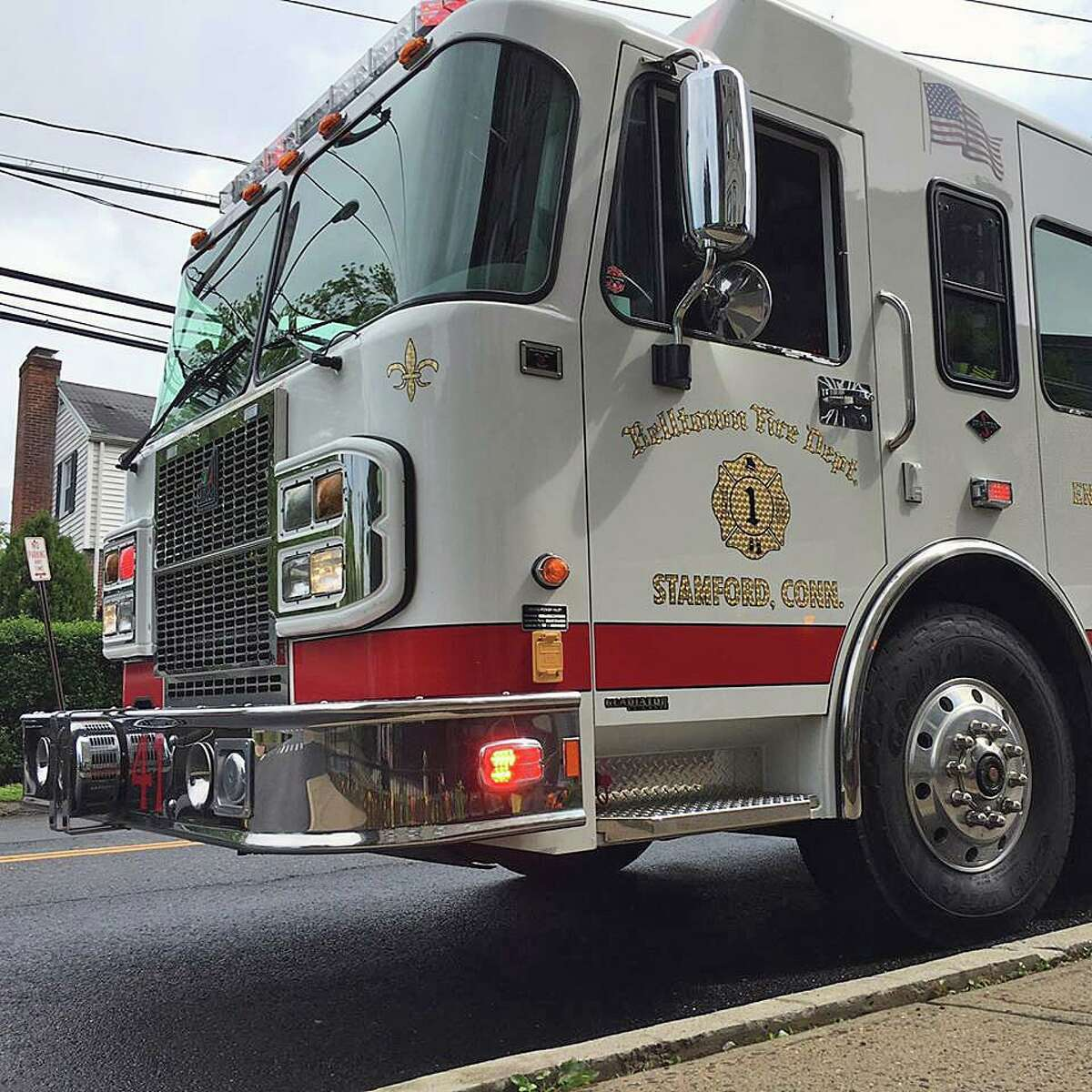 A file photo of a Belltown Volunteer Fire Department fire engine.