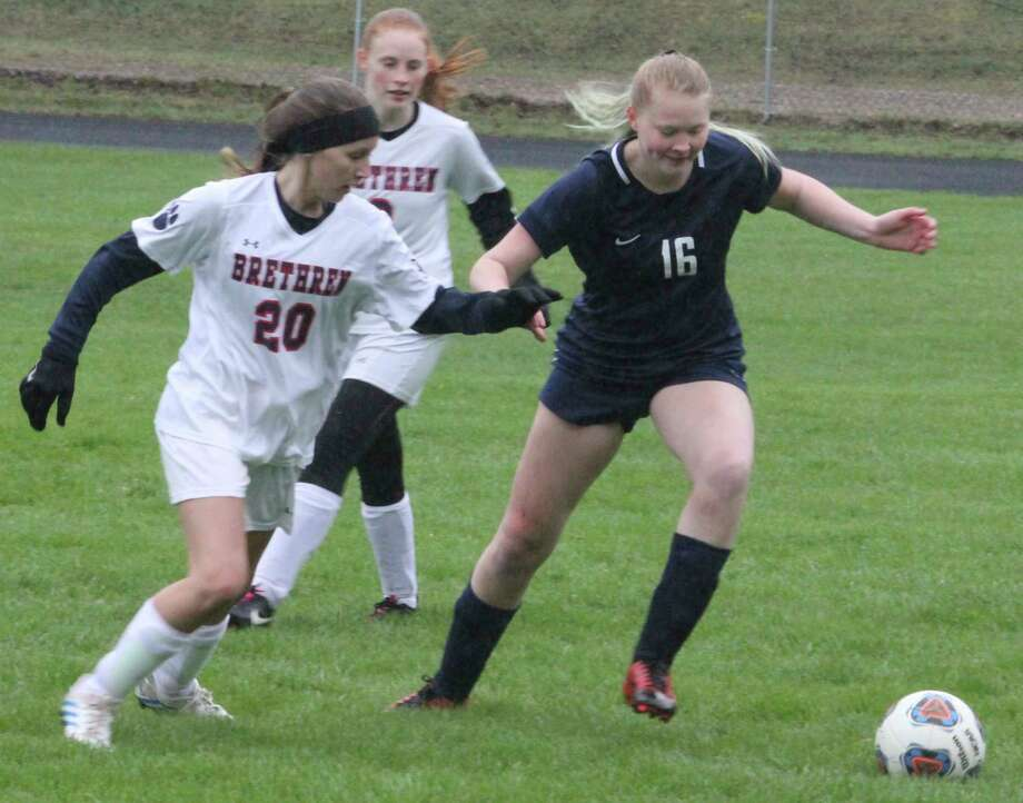 Crossroads girls soccer is among the sports that won't be played this fall because of the coronavirus crisis. (Pioneer file photo)