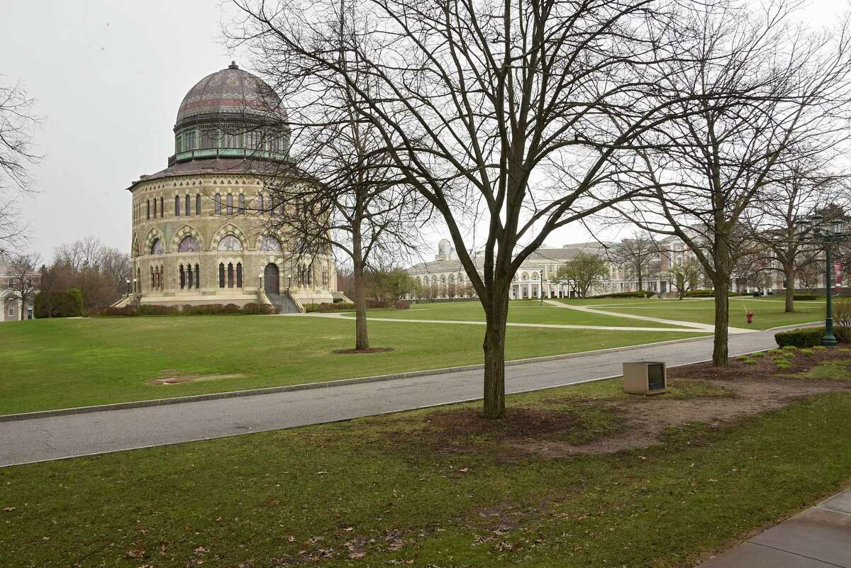 Union College in Schenectady, N.Y. is seen on Friday, April 10, 2020. (Lori Van Buren/Times Union)
