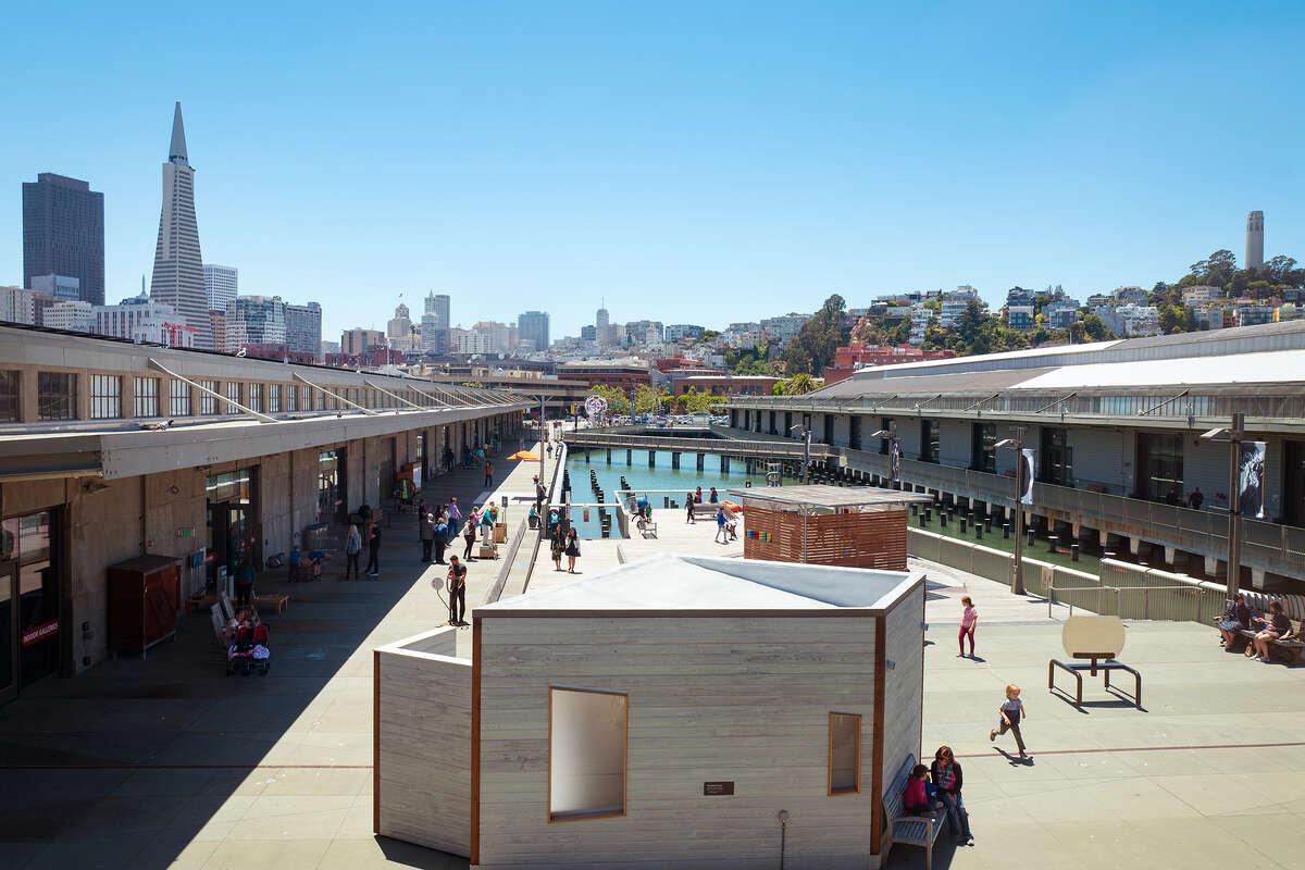The Exploratorium science museum on the Embarcadero.