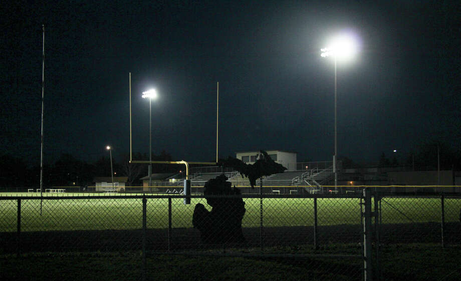Upper Thumb area high schools turn on the lights at their football fields on Friday night as a sign of hope. The idea spread across the nation through social media with the hashtag #BeTheLight. Photo: Mark Birdsall/Huron Daily Tribune