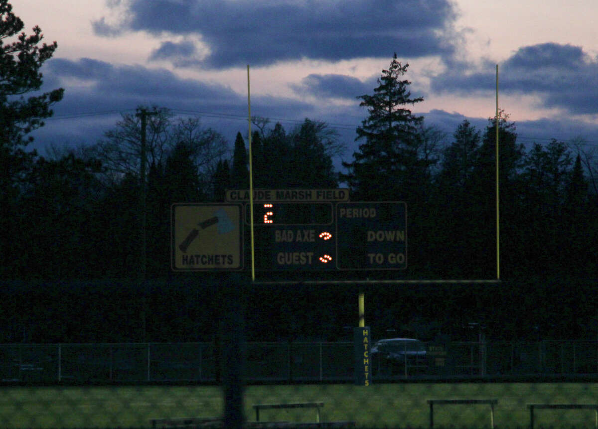 Upper Thumb area high schools turn on the lights at their football fields on Friday night as a sign of hope. The idea spread across the nation through social media with the hashtag #BeTheLight.