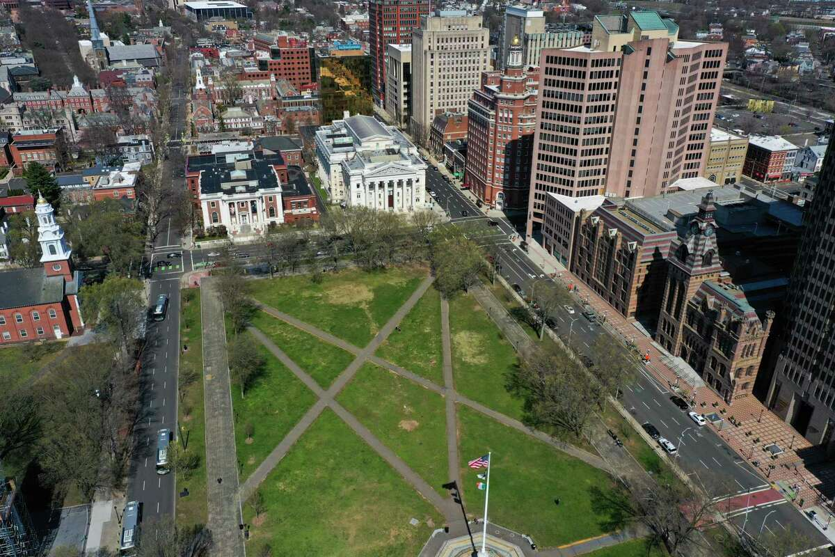 The New Haven Green will be devoid of large festival crowds in June.